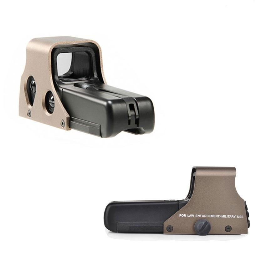 Holosight 552 AIRSOFT Red Dot Sand Kleur Militaire Style-1258-a