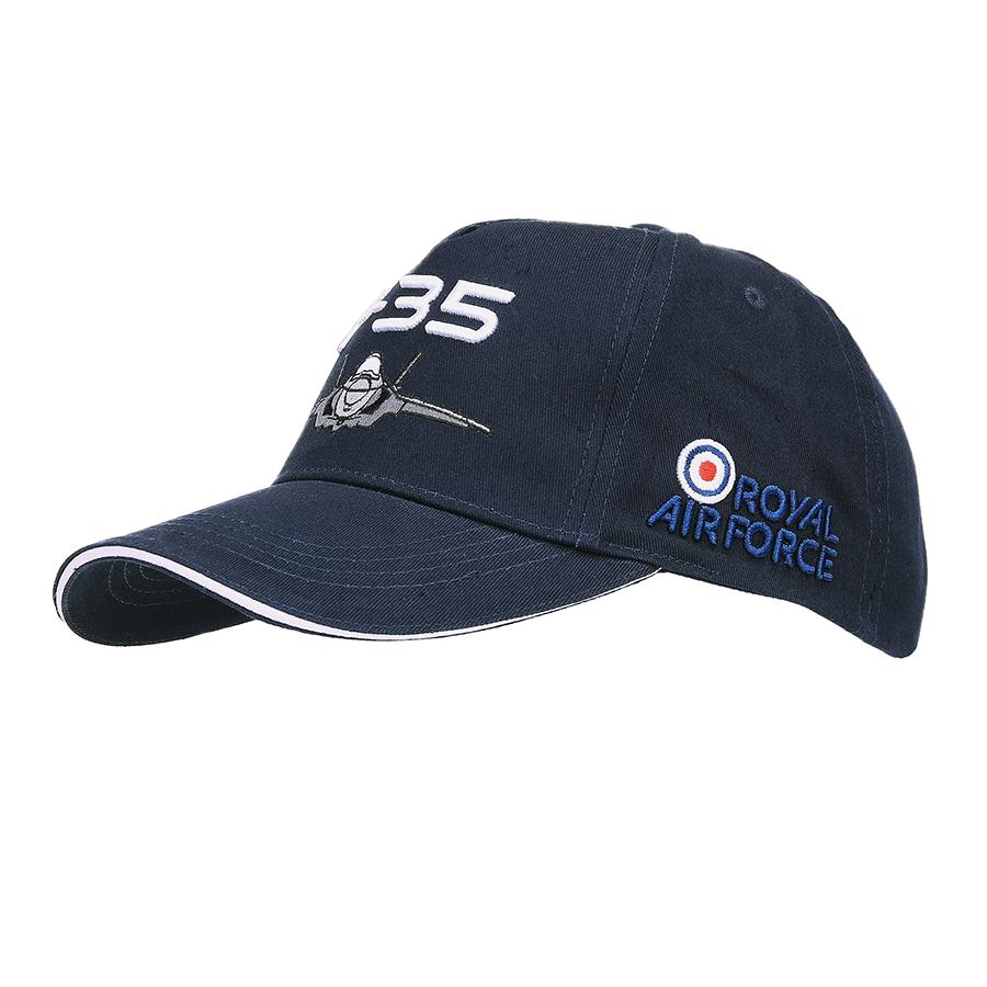 Cap KIDS  Royal Airforce F35 Blauw -1323-a