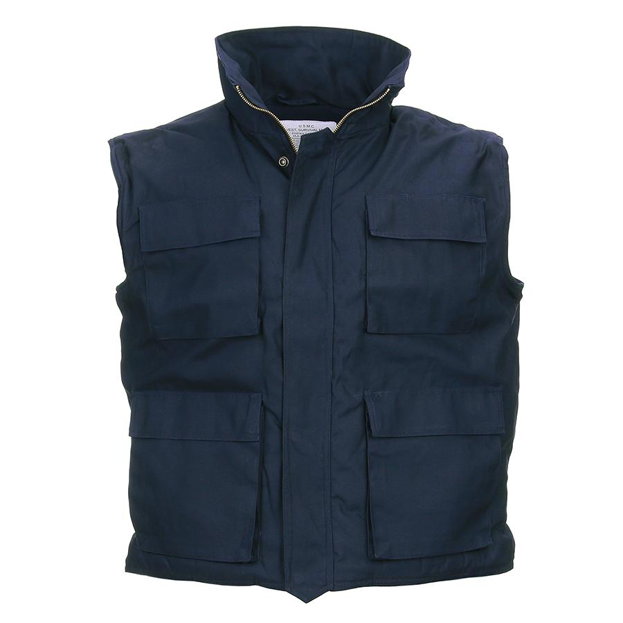 Bodywarmer Blauw Army Model-1367-a