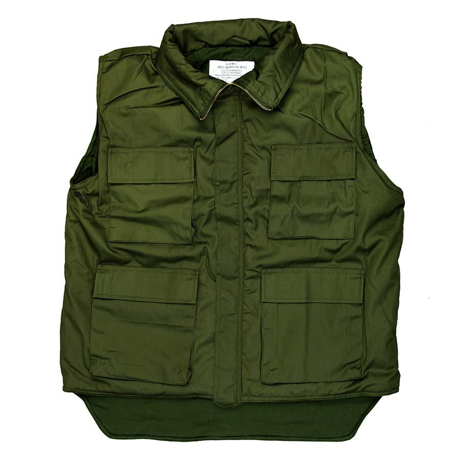 Bodywarmer Groen Army Model-1369-a
