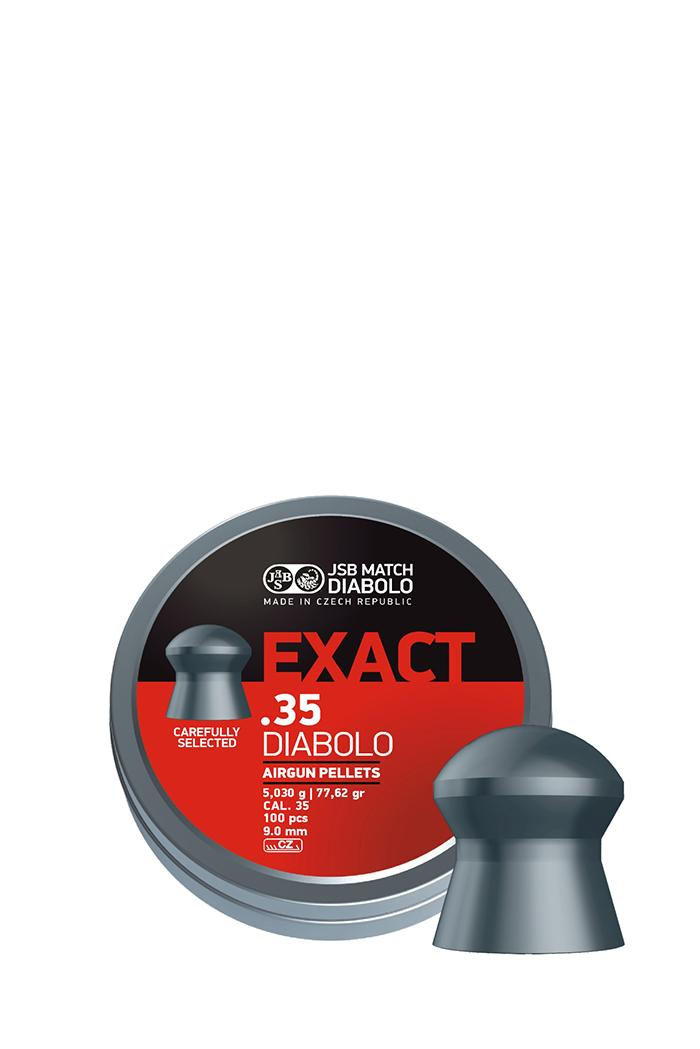 Exact 9mm  .35 Airgun pellets-263-a