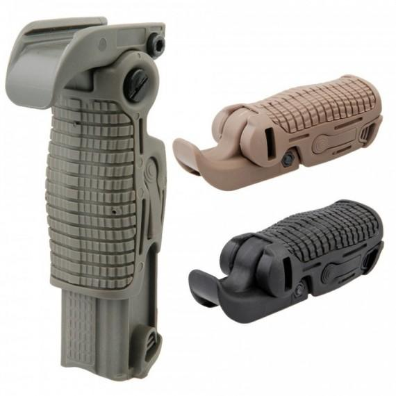 Airsoft foldable foregrip Black-356-a