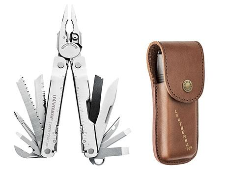 Leatherman Supertool 300 stainless Heritage sheath -786-a