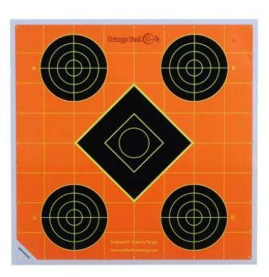 Sticker Targets 12 Inch-838-a