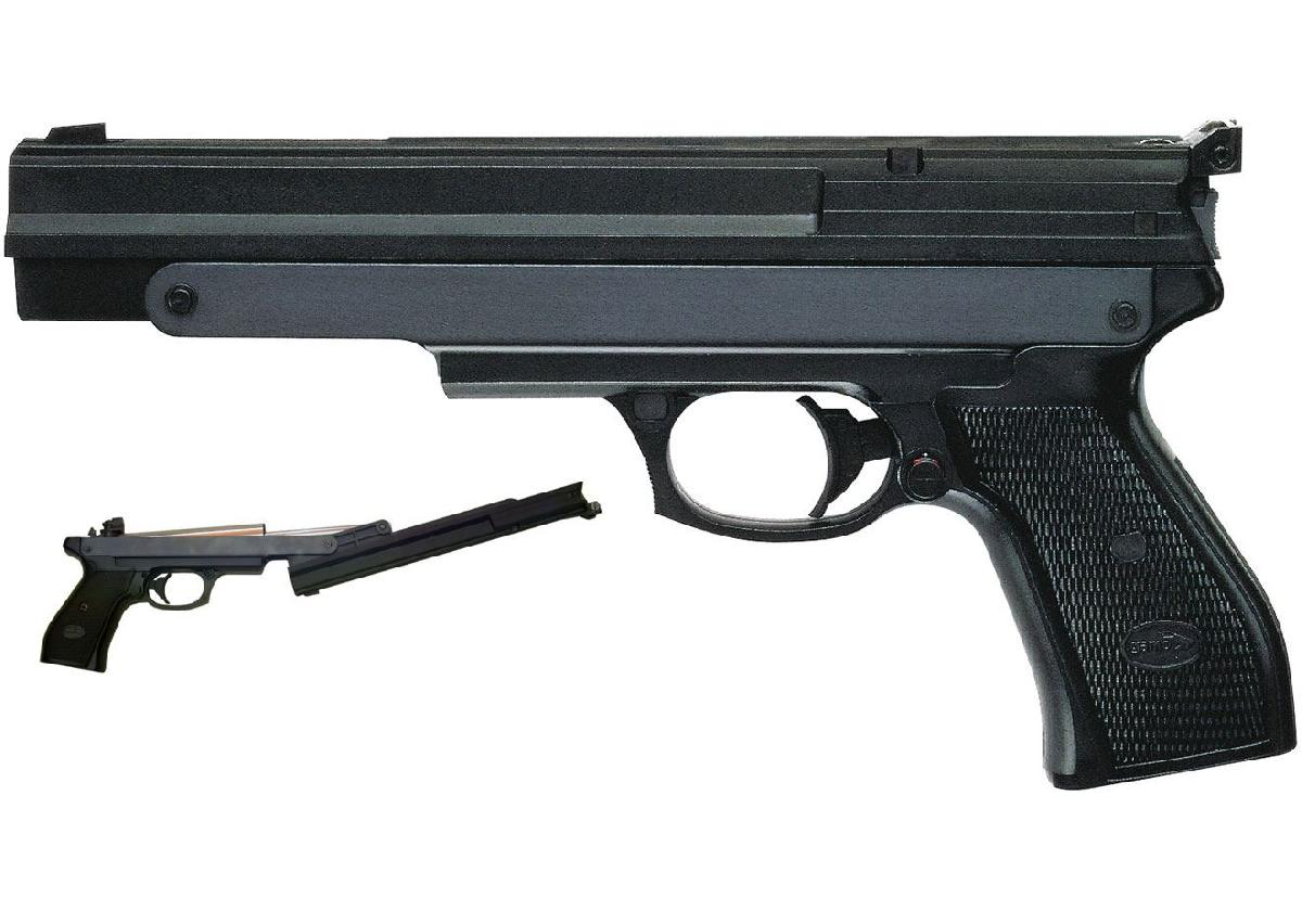 PR 45 PreCompressed  Airpistol 4,5mm + Koffertje + kogeltjes-932-a